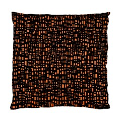 Brown Box Background Pattern Standard Cushion Case (two Sides)