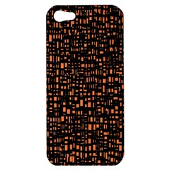 Brown Box Background Pattern Apple Iphone 5 Hardshell Case