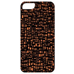 Brown Box Background Pattern Apple iPhone 5 Classic Hardshell Case