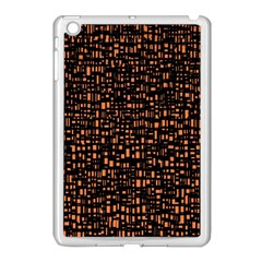 Brown Box Background Pattern Apple iPad Mini Case (White)