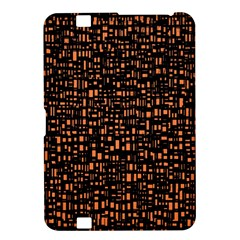 Brown Box Background Pattern Kindle Fire HD 8.9