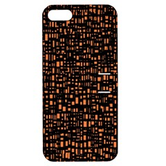 Brown Box Background Pattern Apple iPhone 5 Hardshell Case with Stand
