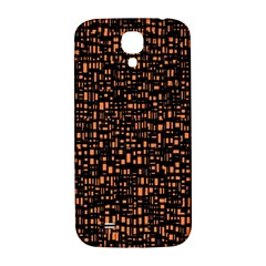 Brown Box Background Pattern Samsung Galaxy S4 I9500/I9505  Hardshell Back Case