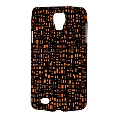Brown Box Background Pattern Galaxy S4 Active