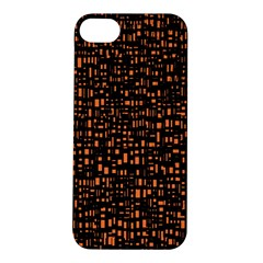 Brown Box Background Pattern Apple iPhone 5S/ SE Hardshell Case