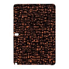 Brown Box Background Pattern Samsung Galaxy Tab Pro 12 2 Hardshell Case