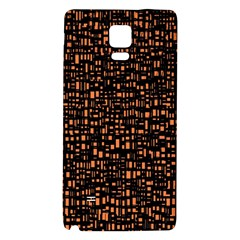 Brown Box Background Pattern Galaxy Note 4 Back Case
