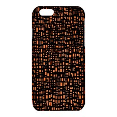 Brown Box Background Pattern iPhone 6/6S TPU Case