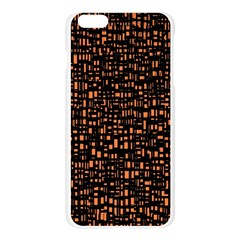 Brown Box Background Pattern Apple Seamless iPhone 6 Plus/6S Plus Case (Transparent)