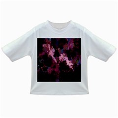 Grunge Purple Abstract Texture Infant/toddler T Shirts