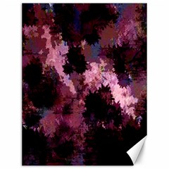 Grunge Purple Abstract Texture Canvas 12  x 16