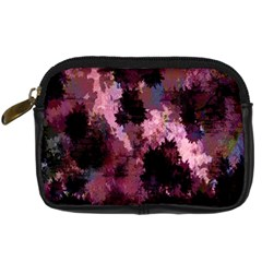 Grunge Purple Abstract Texture Digital Camera Cases