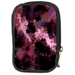 Grunge Purple Abstract Texture Compact Camera Cases
