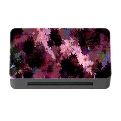 Grunge Purple Abstract Texture Memory Card Reader with CF