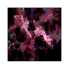 Grunge Purple Abstract Texture Acrylic Tangram Puzzle (6  x 6 )