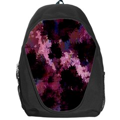 Grunge Purple Abstract Texture Backpack Bag