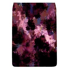 Grunge Purple Abstract Texture Flap Covers (l)