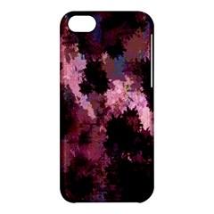 Grunge Purple Abstract Texture Apple Iphone 5c Hardshell Case