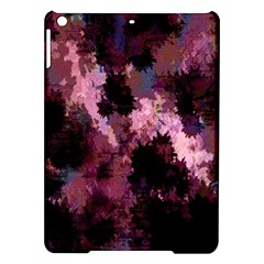 Grunge Purple Abstract Texture iPad Air Hardshell Cases