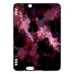 Grunge Purple Abstract Texture Kindle Fire HDX Hardshell Case