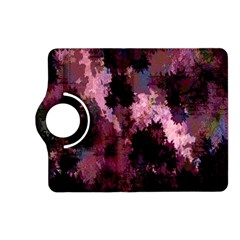 Grunge Purple Abstract Texture Kindle Fire Hd (2013) Flip 360 Case