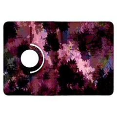 Grunge Purple Abstract Texture Kindle Fire HDX Flip 360 Case