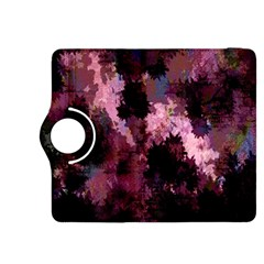 Grunge Purple Abstract Texture Kindle Fire Hdx 8 9  Flip 360 Case