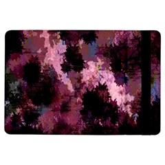 Grunge Purple Abstract Texture iPad Air Flip