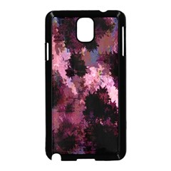 Grunge Purple Abstract Texture Samsung Galaxy Note 3 Neo Hardshell Case (black)