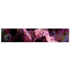 Grunge Purple Abstract Texture Flano Scarf (Small)