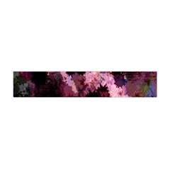 Grunge Purple Abstract Texture Flano Scarf (Mini)