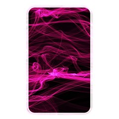 Abstract Pink Smoke On A Black Background Memory Card Reader