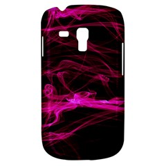 Abstract Pink Smoke On A Black Background Galaxy S3 Mini