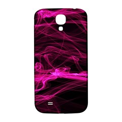 Abstract Pink Smoke On A Black Background Samsung Galaxy S4 I9500/i9505  Hardshell Back Case