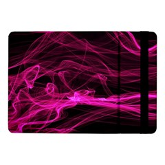 Abstract Pink Smoke On A Black Background Samsung Galaxy Tab Pro 10 1  Flip Case