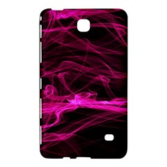 Abstract Pink Smoke On A Black Background Samsung Galaxy Tab 4 (7 ) Hardshell Case