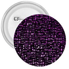 Purple Denim Background Pattern 3  Buttons