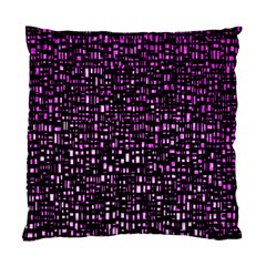 Purple Denim Background Pattern Standard Cushion Case (two Sides)