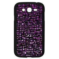Purple Denim Background Pattern Samsung Galaxy Grand Duos I9082 Case (black)