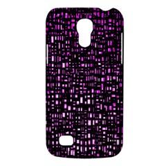 Purple Denim Background Pattern Galaxy S4 Mini