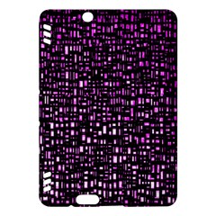 Purple Denim Background Pattern Kindle Fire HDX Hardshell Case