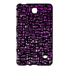Purple Denim Background Pattern Samsung Galaxy Tab 4 (7 ) Hardshell Case