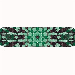 Abstract Green Patterned Wallpaper Background Large Bar Mats