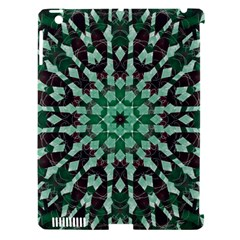 Abstract Green Patterned Wallpaper Background Apple iPad 3/4 Hardshell Case (Compatible with Smart Cover)