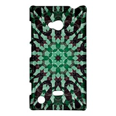 Abstract Green Patterned Wallpaper Background Nokia Lumia 720