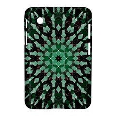 Abstract Green Patterned Wallpaper Background Samsung Galaxy Tab 2 (7 ) P3100 Hardshell Case