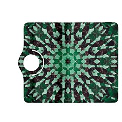 Abstract Green Patterned Wallpaper Background Kindle Fire Hdx 8 9  Flip 360 Case