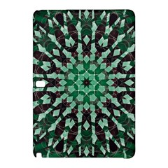 Abstract Green Patterned Wallpaper Background Samsung Galaxy Tab Pro 10 1 Hardshell Case