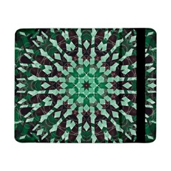 Abstract Green Patterned Wallpaper Background Samsung Galaxy Tab Pro 8 4  Flip Case