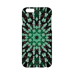 Abstract Green Patterned Wallpaper Background Apple Iphone 6/6s Hardshell Case